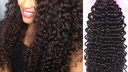 Top Quality of Curly Virgin Hair Extensions