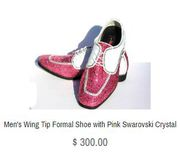 Beautifully embellished crystal shoes available at Ourwickedaddiction.