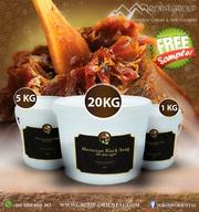 100% Organic Moroccan Beldi Black Soap - Moroccan Black Soap